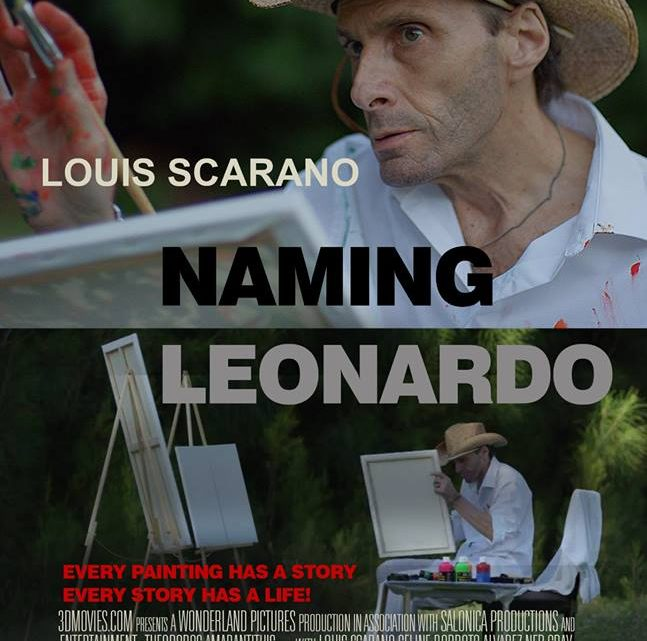 NAMING LEONARDO – THE MOVIE – IN 3DMOVIES YOU CAN TOUCH 3D!